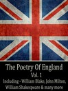 The Poetry of England, Volume 1 (MP3)